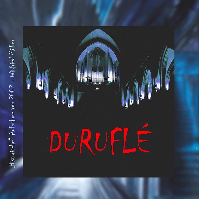 CD Winfried Müller spielt Duruflé